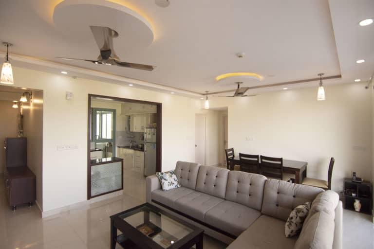 Living Room Interior Design Interior Designer in Bangalore India