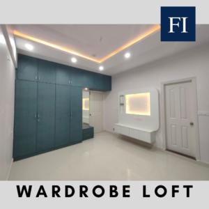 Loft on Wardrobe