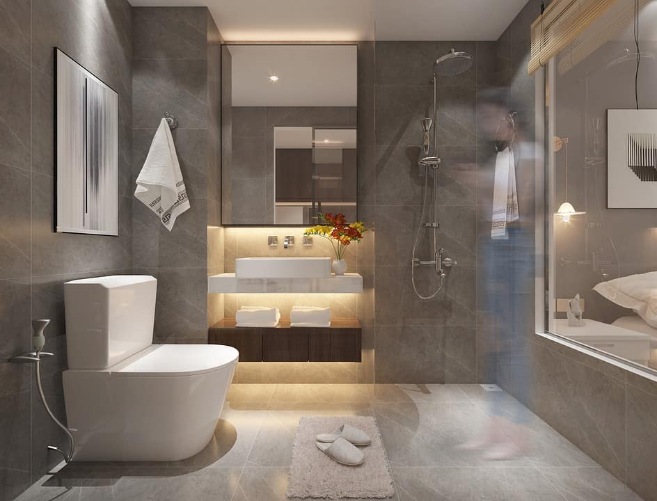 Bathroom Renovation by Flicha Interiors, Bangalore