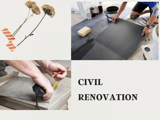Complete Civil Renovations in Bangalore