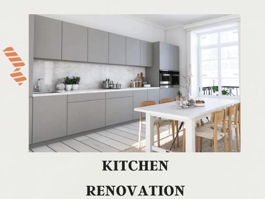 Kitchen Renovation in Bangalore