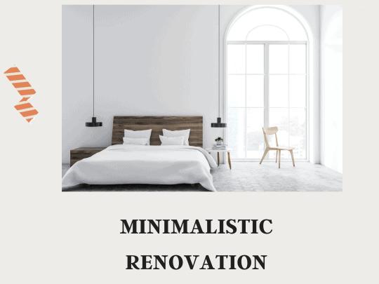 Minimalistic Renovation in Bangalore