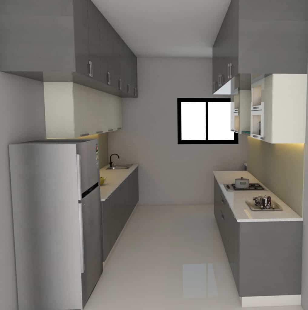 Parallel Kitchen Design