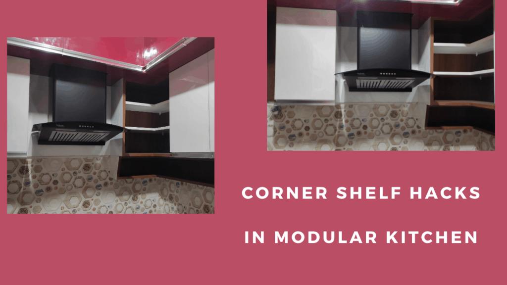 Open Corner Shelves
