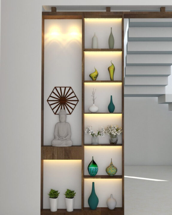 Designer Partition Concept by Flicha Interiors