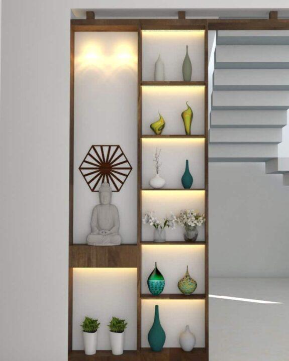 Designer Partition Concept by Flicha Interiors