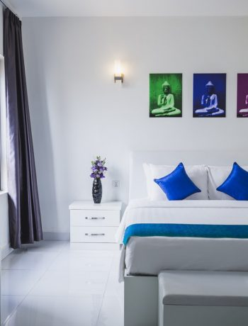 Lovable Color themed home interiors